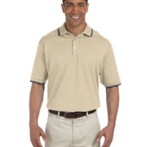 Men's Tipped Perfect Pima Interlock Polo Thumbnail