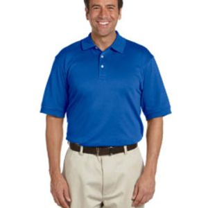 Men's Solid Perfect Pima Interlock Polo Thumbnail