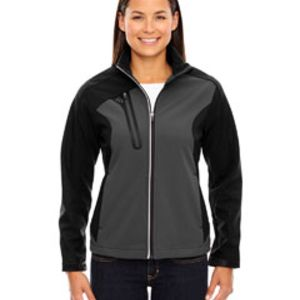 Ladies' Terrain Colorblock Soft Shell with Embossed Print Thumbnail