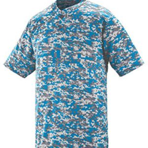 Adult Polyester Digi Print Two-Button Short-Sleeve Jersey Thumbnail