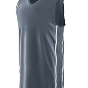 Adult Wicking Polyester Sleeveless Jersey with Mesh Inserts Thumbnail