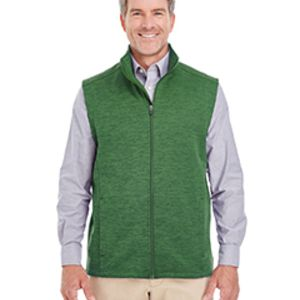 Men's Newbury Mélange Fleece Vest Thumbnail