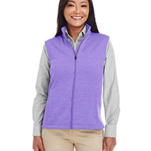 Ladies' Newbury Mélange Fleece Vest Thumbnail