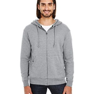 Unisex Triblend French Terry Full-Zip Thumbnail