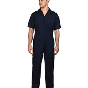 Unisex Twill Non-Insulated Short-Sleeve Coverall Thumbnail