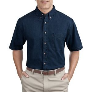 Short Sleeve Value Denim Shirt Thumbnail