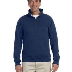 9.5 oz., 50/50 Super Sweats® NuBlend® Fleece Quarter-Zip Pullover Thumbnail
