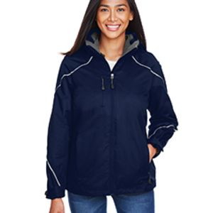 Angle Ladies' 3-In-1 Jacket With Bonded Fleece Liner Thumbnail