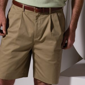 Men's Utility Pleated Front Chino Short-9